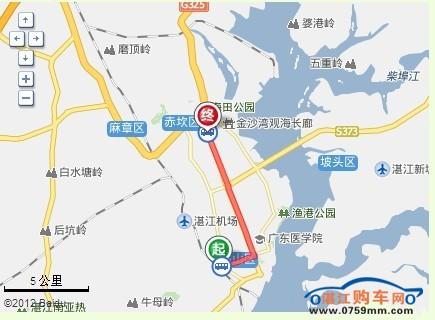 湛江车城占地面积8万多平方米